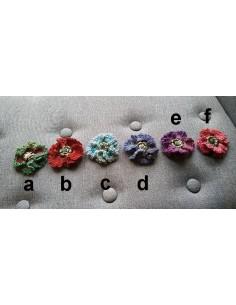 Broches en laine 6 cm (Fab. Maison)
