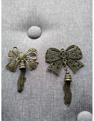 Nœuds en Métal couleur Bronze