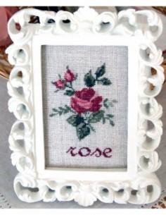 Fiche Cadre à la Rose