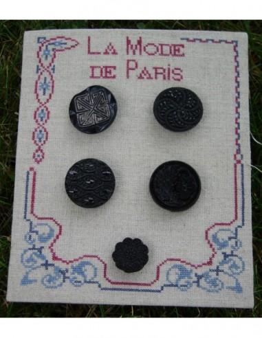 Fiche Boutons Mode de Paris