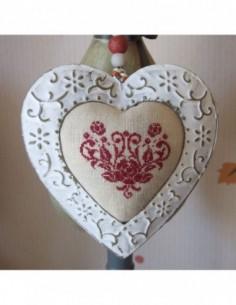 Semi-Kit Pique-Aiguilles Déco Cœur