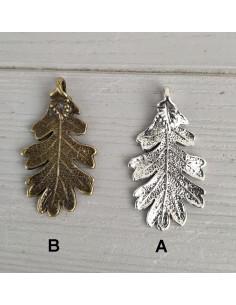 Feuilles de Chêne Argent ou Bronze