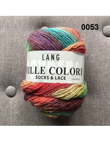 Laine Socks and Lace de Lang Yarn
